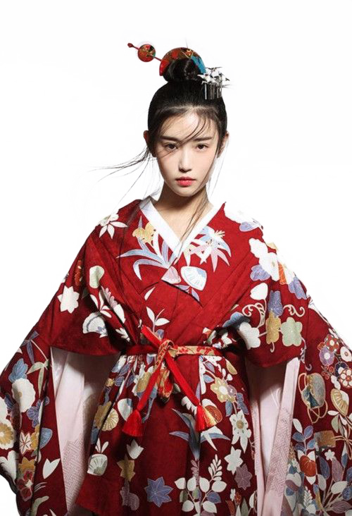 Japanese girl png. By abagil on deviantart