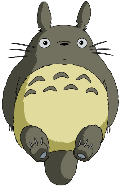 japanese transparent totoro
