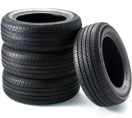 Tires png. Car and truck used