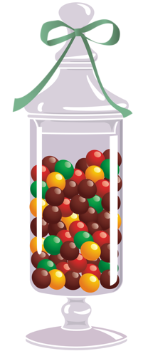 Candy jar png. Sweets in a transparent