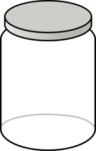 Jar clipart paint jar. Clear clip art artistic
