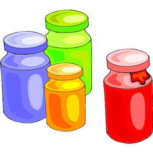 Jar clipart paint jar. Bottles cliparts of free