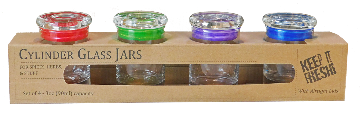 Jar transparent airtight. Pack oz ml