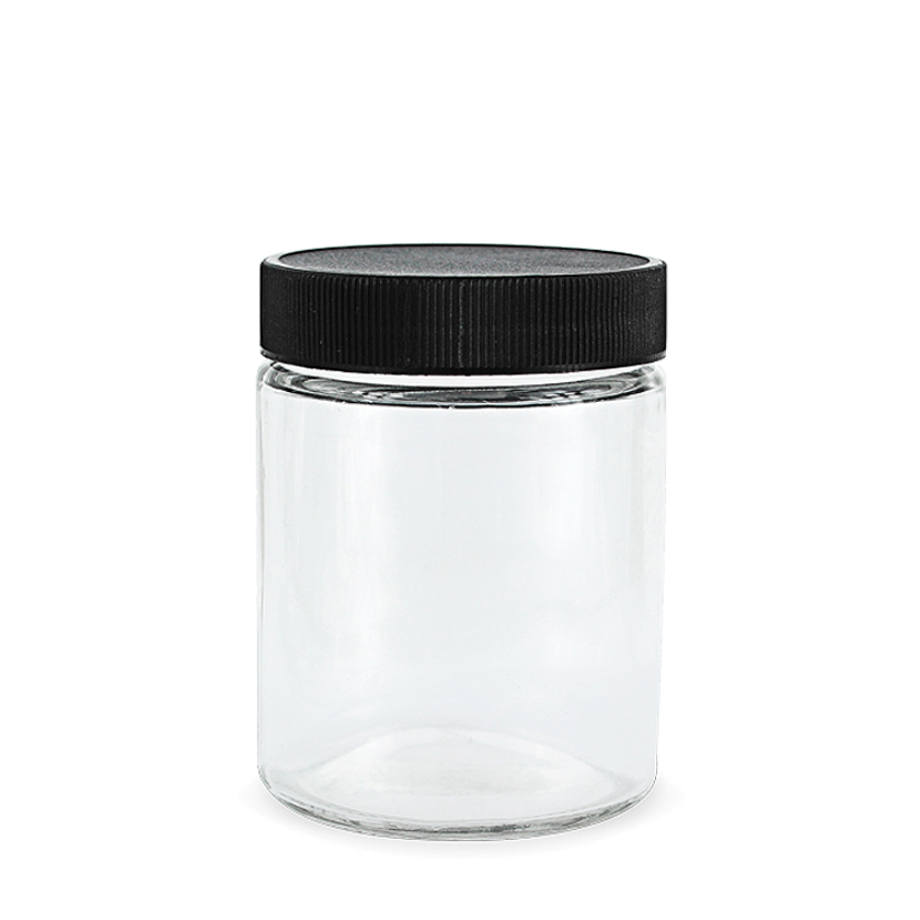 Jar transparent airtight. Oz glass jars