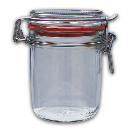 transparent jar rubber seal