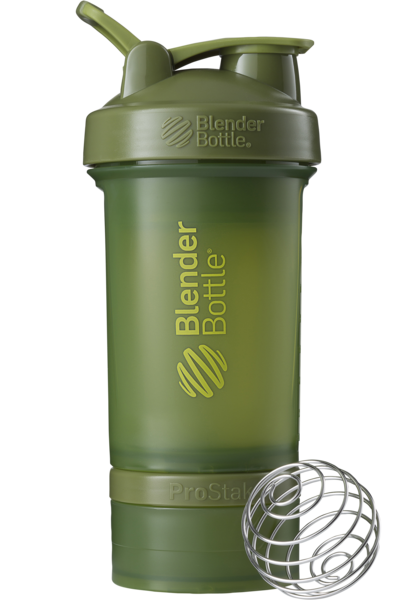 Jar transparent lock. The protein shaker with