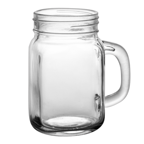 transparent jar 12 oz