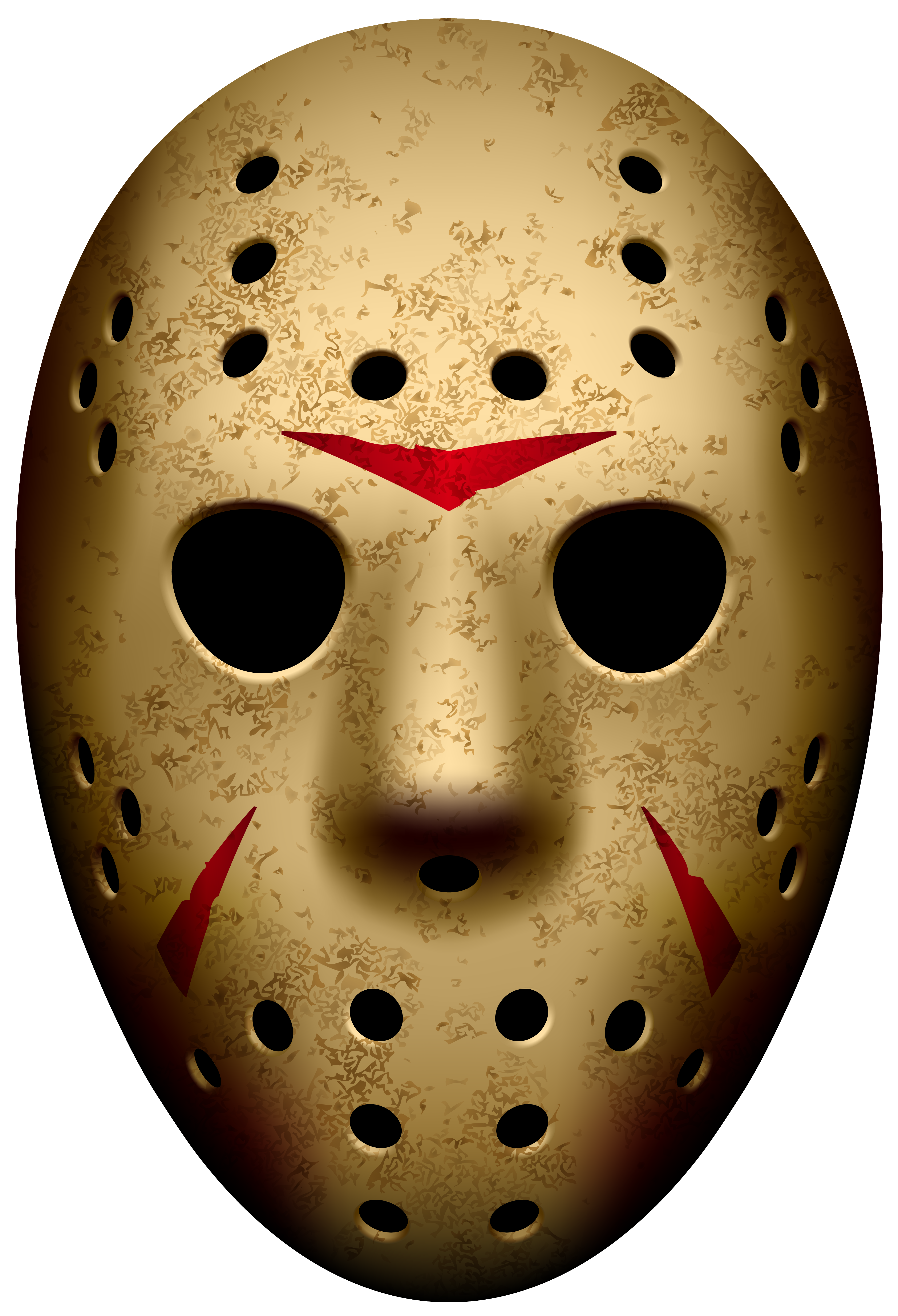 friday the 13th mask png