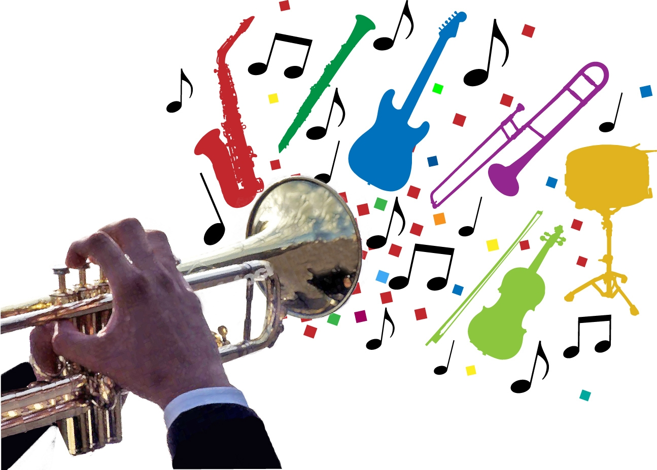 School band . Jazz clipart jazz ensemble graphic library download