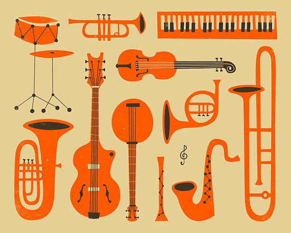 Jazz clipart jazz instrument. Just gicl e fine