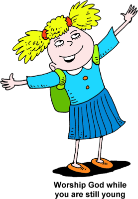 Jazz clipart worship. Image young girl looking
