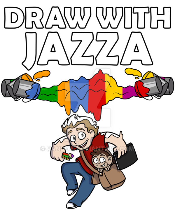 Dwj draw with by. Jazza drawing vector freeuse library