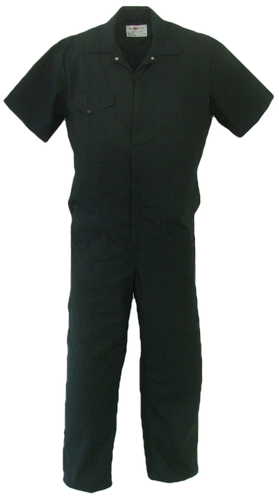 Jean drawing coverall. Men s short sleeve