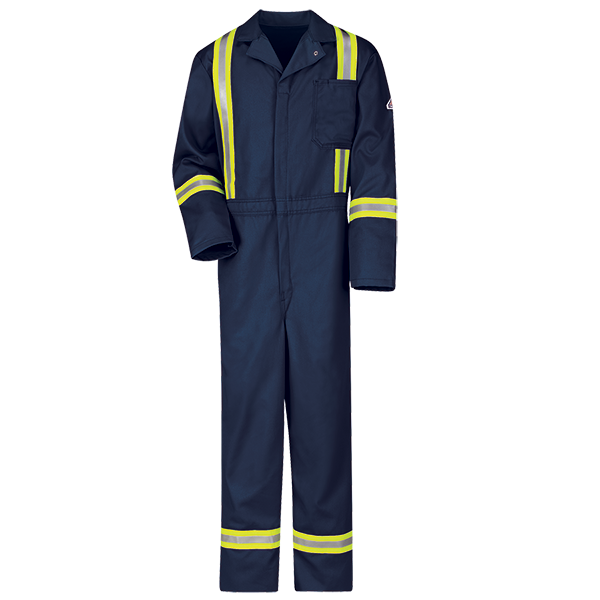 Jean drawing coverall. Fr classic w reflective