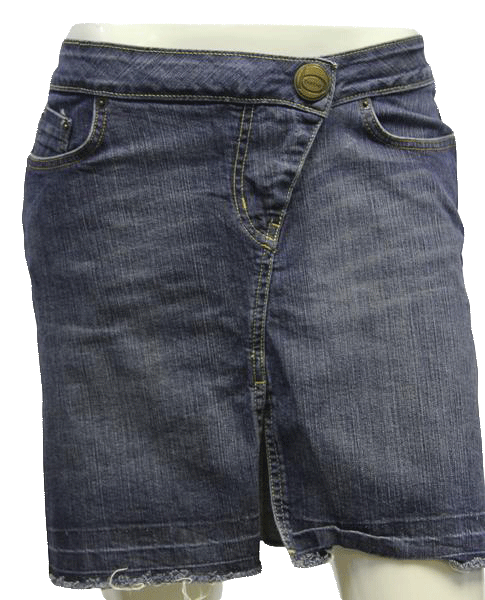 Jean skirt png. Bebe different angles sz