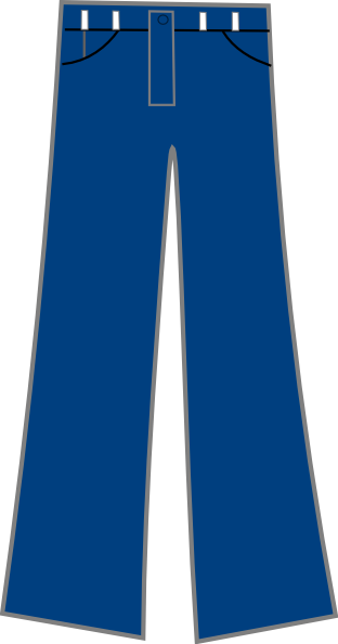Jeans vector pajama pants
