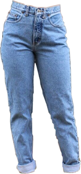 mom jeans png