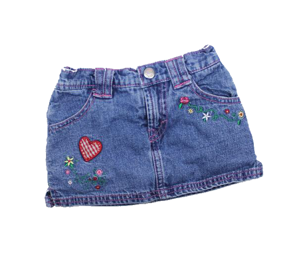 jean skirt png