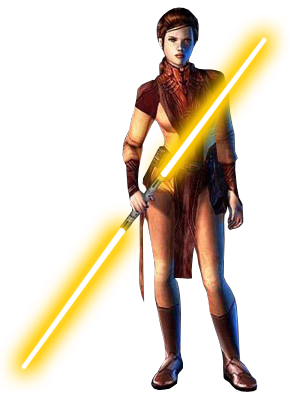 Jedi knight png. Female knights bastila shan