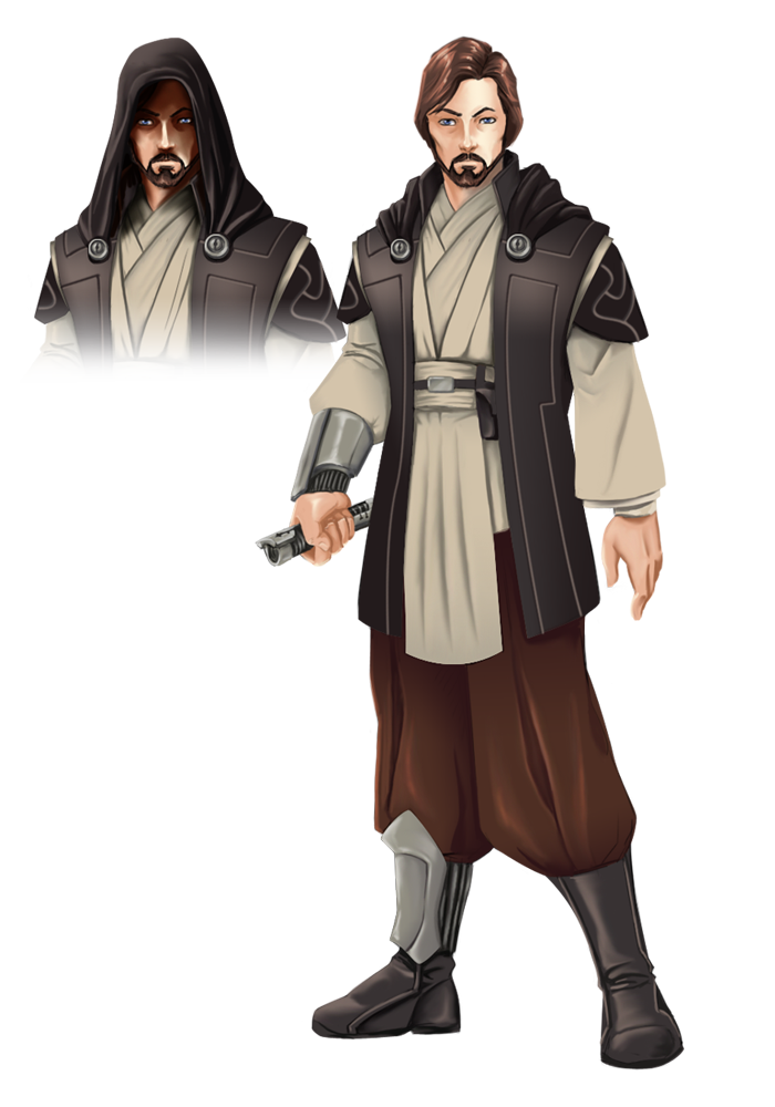 Jedi knight png. Image by deviantyurai d