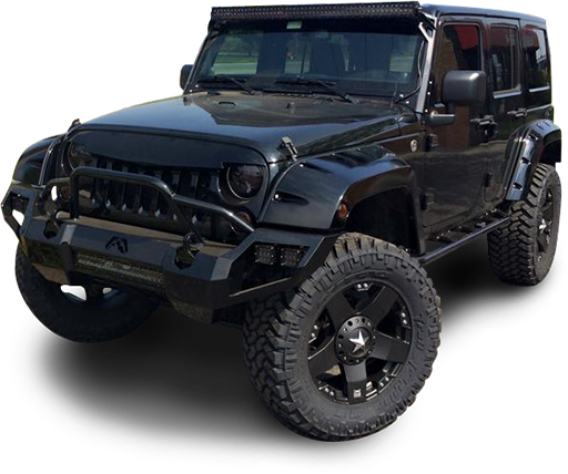 Jeep black png. Custom truck and suv