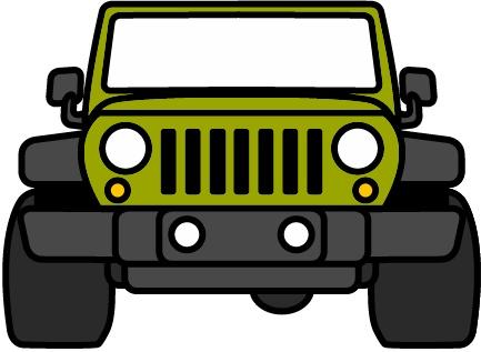 Jeep clipart. Silhouette clip art at