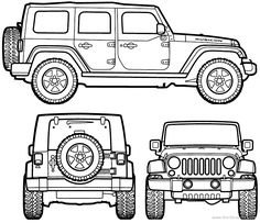 Exquisite wrangler cartoon clip. Jeep clipart jeep back png royalty free download