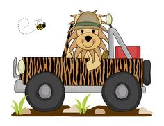 jeep clipart safari tour