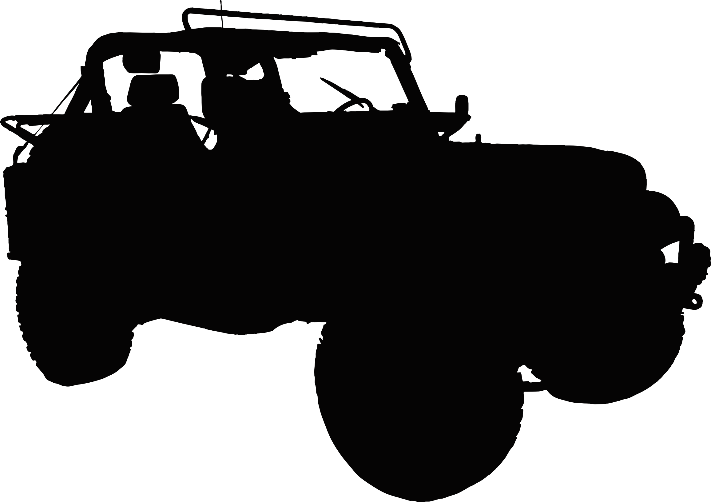 Silhouette icons free and. Jeep silouette png banner black and white download