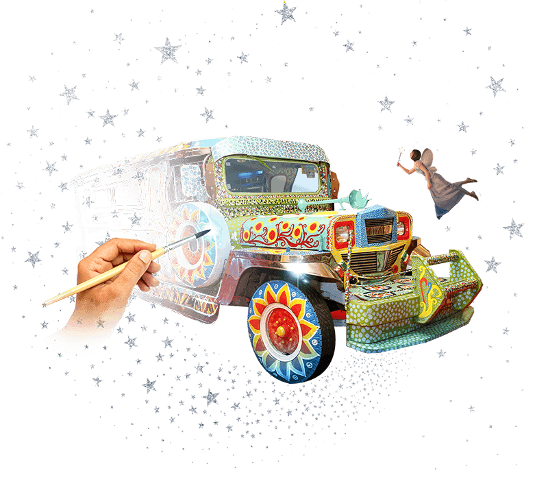 Jeepney drawing dyipni. Pinoy ultimate a magical
