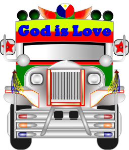 Jeep clipart jeep back. Jeepney clip art at