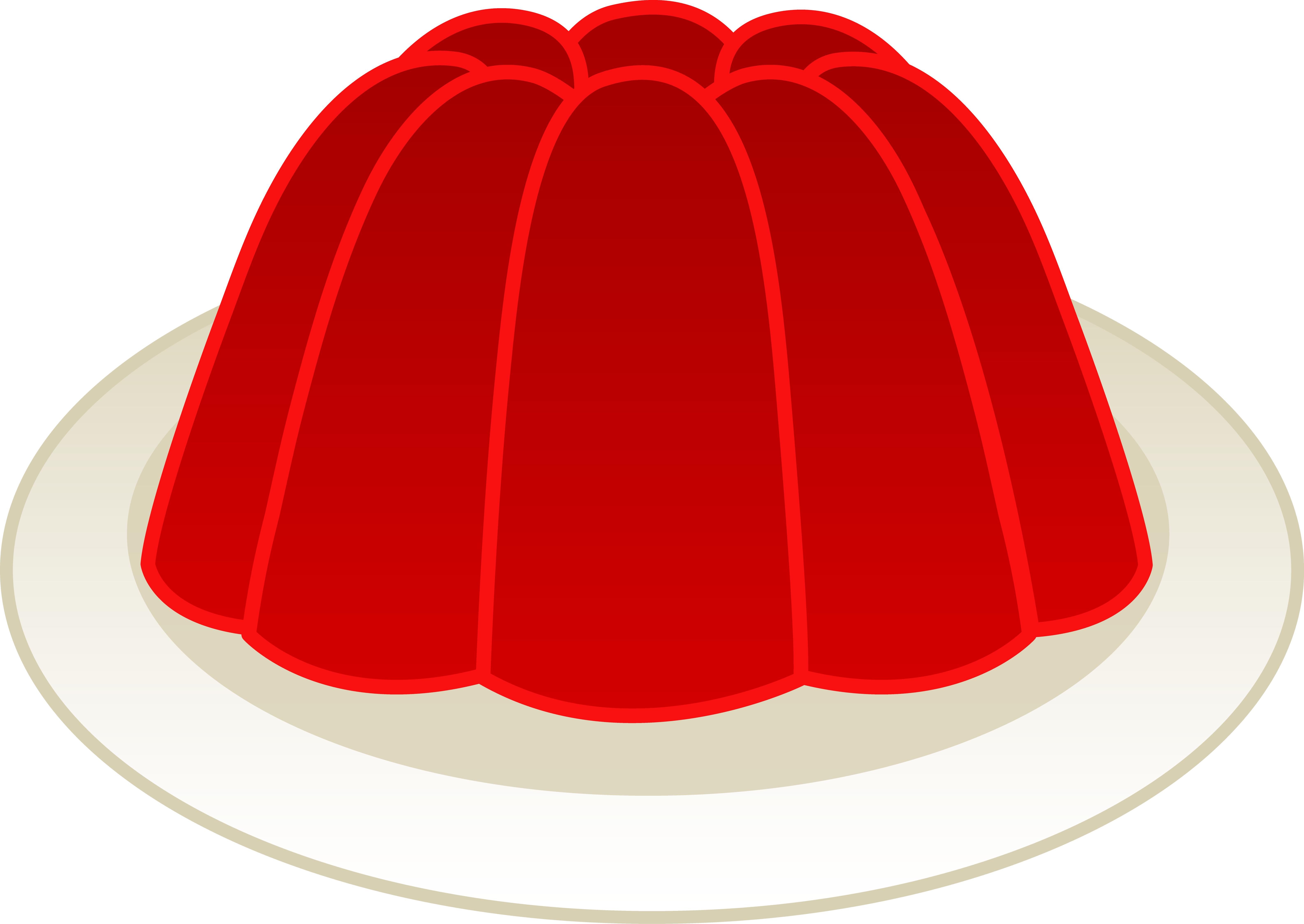 jelly drawing red