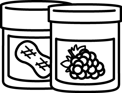 Jelly clipart jelly cake. Peanut butter and clip