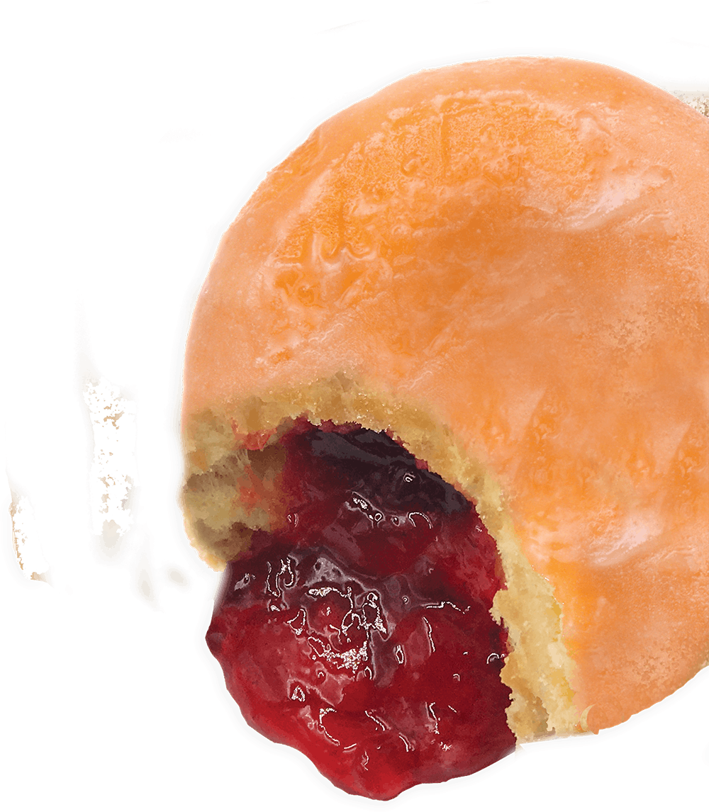 Jelly donut png. Official strawberry e juice