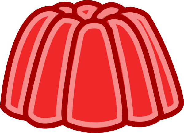 Jelly drawing. Clip art free
