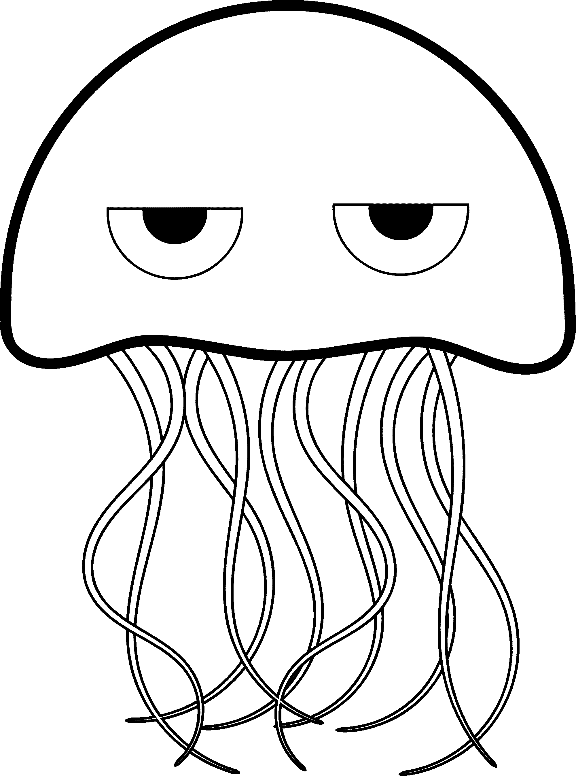 Lead drawing cute. Jelly fish at getdrawings
