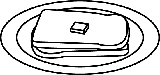 Jelly drawing plate clipart. Clip art free