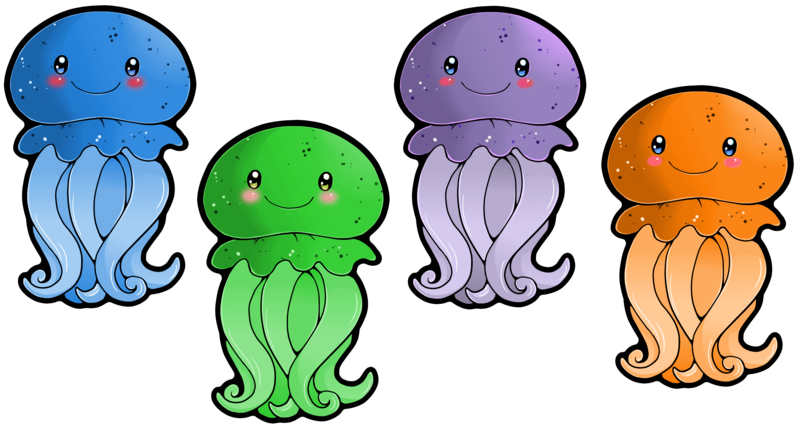 Jellyfish clipart 4 fish. Don t forget to