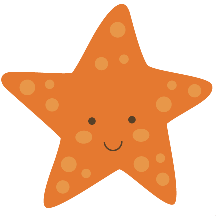 Starfish clipart simple cartoon. Free cute cliparts download