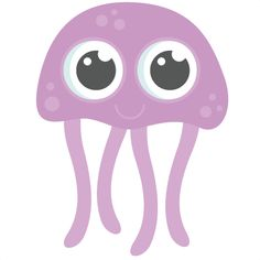 Happy svg cutting files. 3 clipart jellyfish clipart library stock
