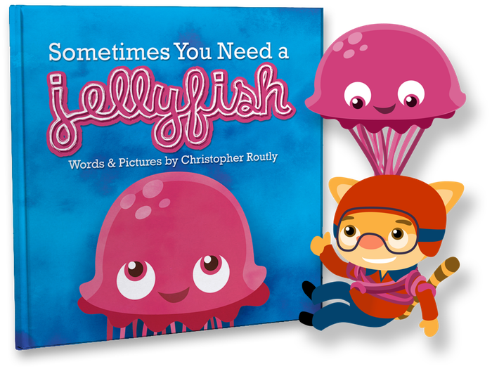 Jellyfish clipart pink jellyfish. Sometimes you need a