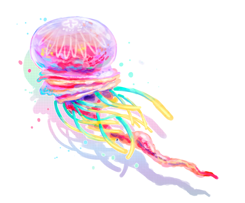 Jellyfish png. Clipart vector psd peoplepng