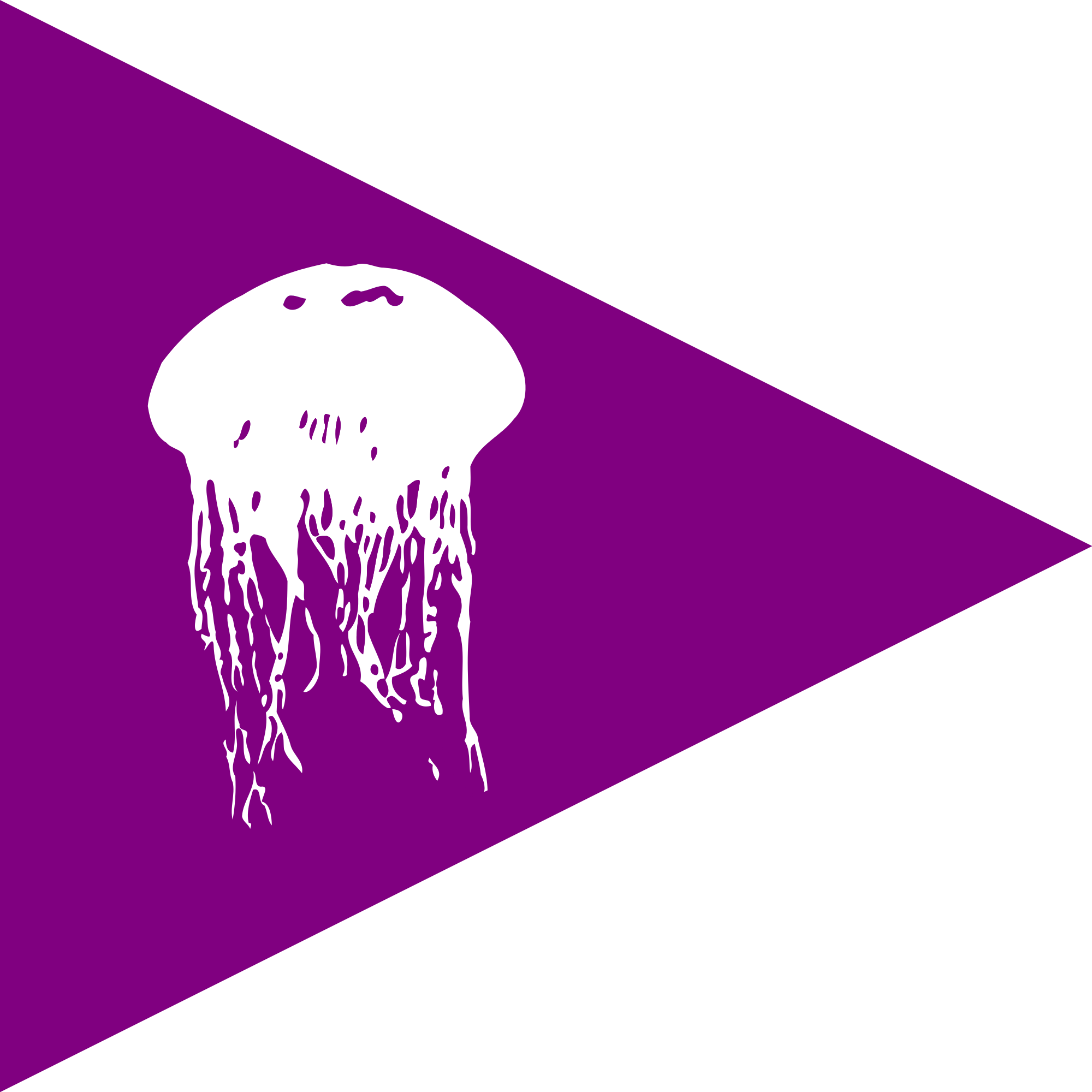 Beach flag wikimedia commons. Jellyfish svg file png library