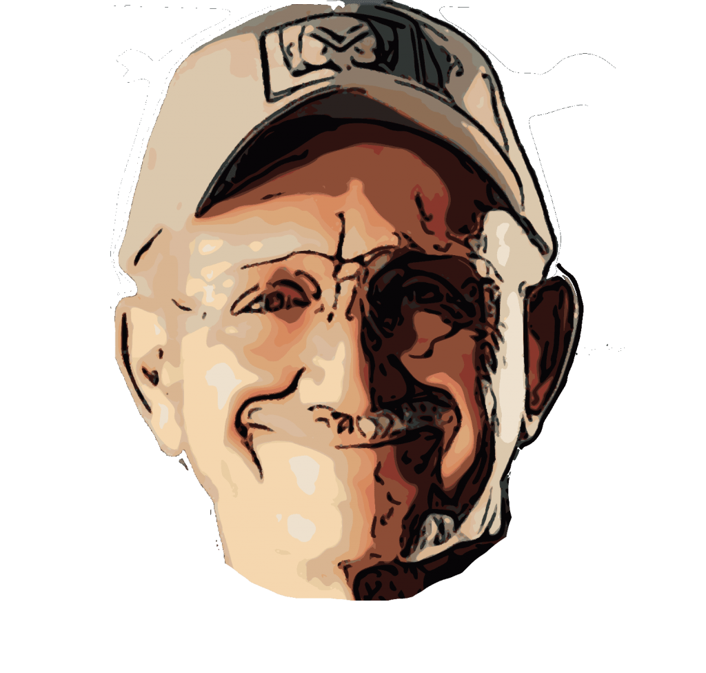 Jerry drawing human face. Miculek the fastest shooter
