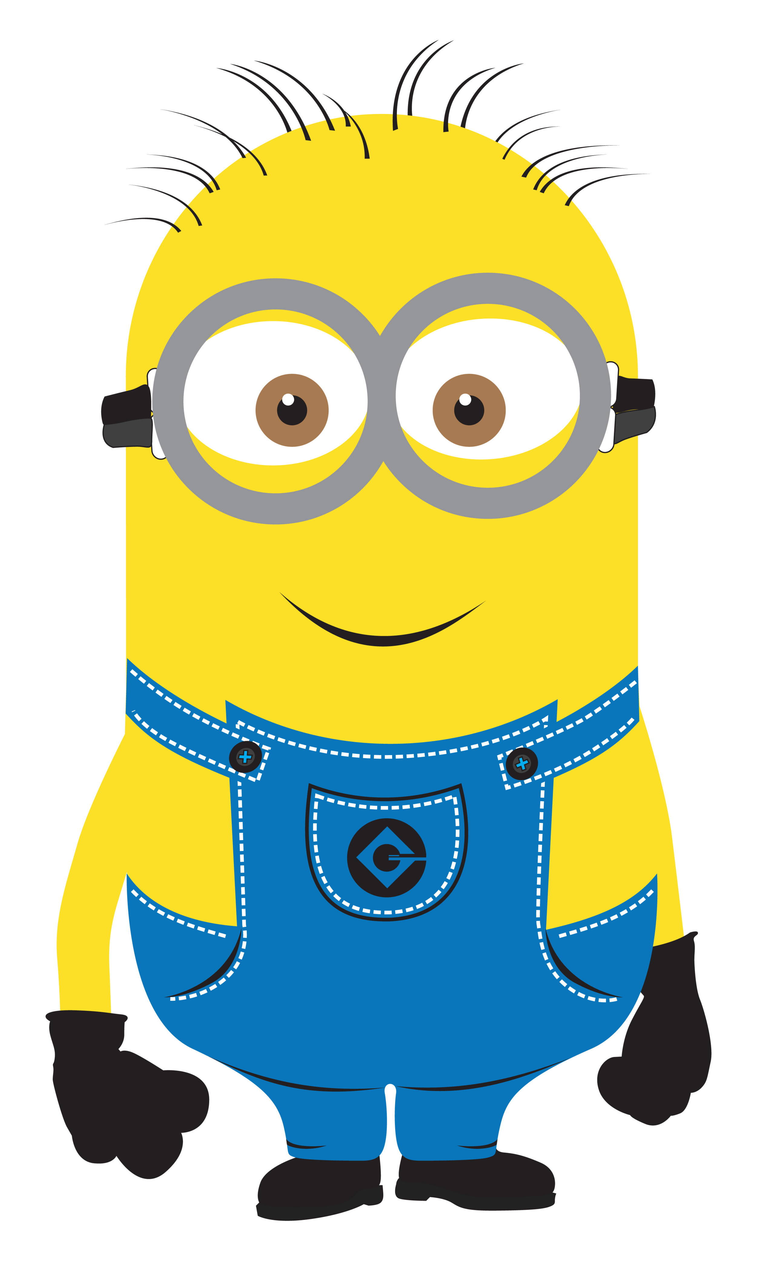 Vector minion background. Minions re mixed birthday