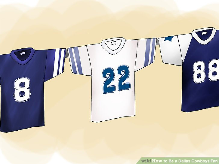 Jersey clipart jersey dallas cowboys. How to be a