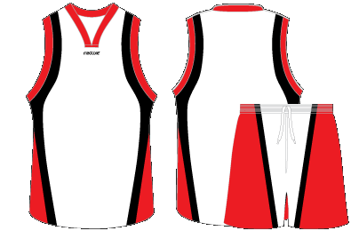 jersey vector draw basketball