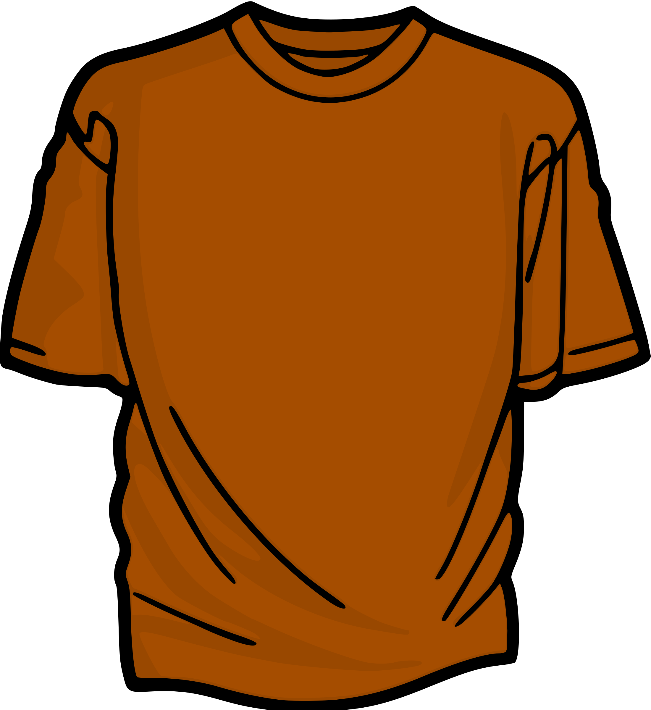 Jersey clipart orange. T shirt big image