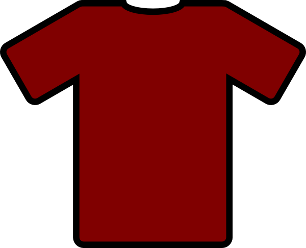 Clipart . Jersey vector football shirt picture library