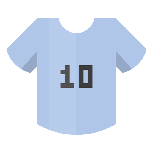 Jersey numbers png. Football shirt number icon